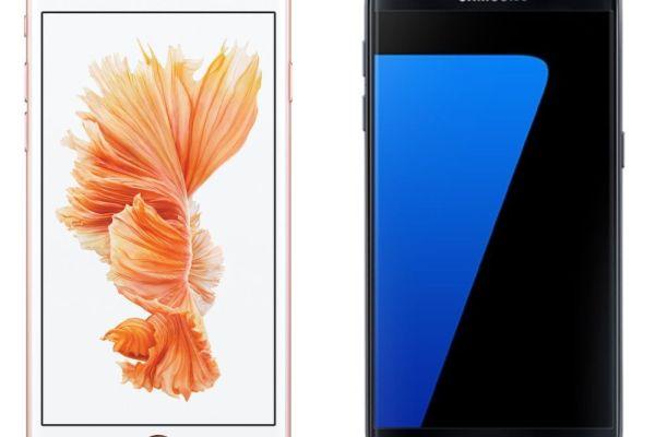 ¿iPhone 6S o Galaxy S7?