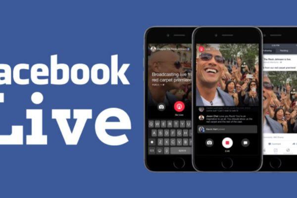 hacer video en facebook live