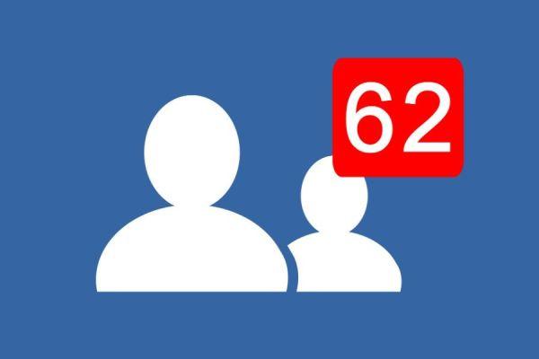sugerencias de amigos en Facebook