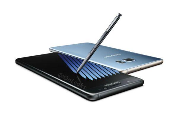 características del Galaxy Note 7