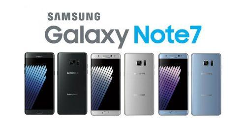 regresar el galaxy note 7