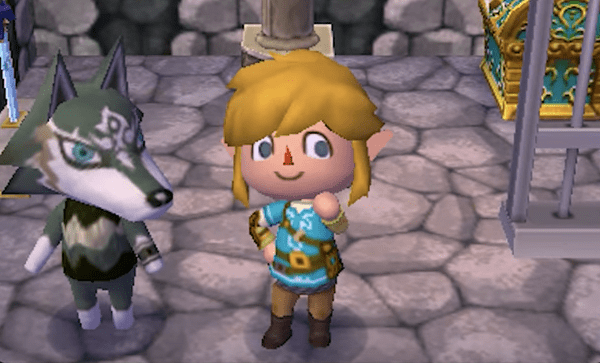The Legend of Zelda en Animal Crossing New Leaf