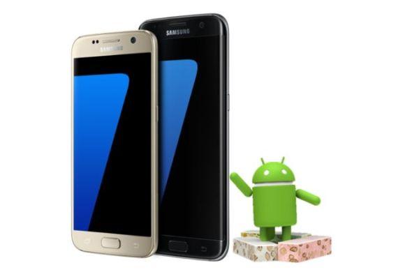 Android 7.0 para Galaxy S7