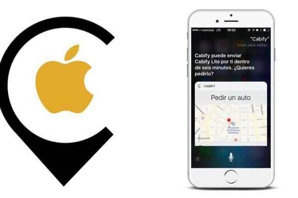 pedir un Cabify con Siri
