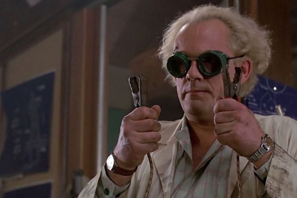 Doc Brown en The Big Band Theory