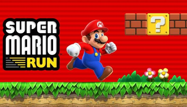 super mario run conectado a internet