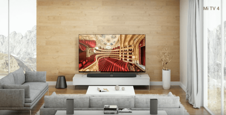 Xiaomi nueva pantalla modular Mi TV 4