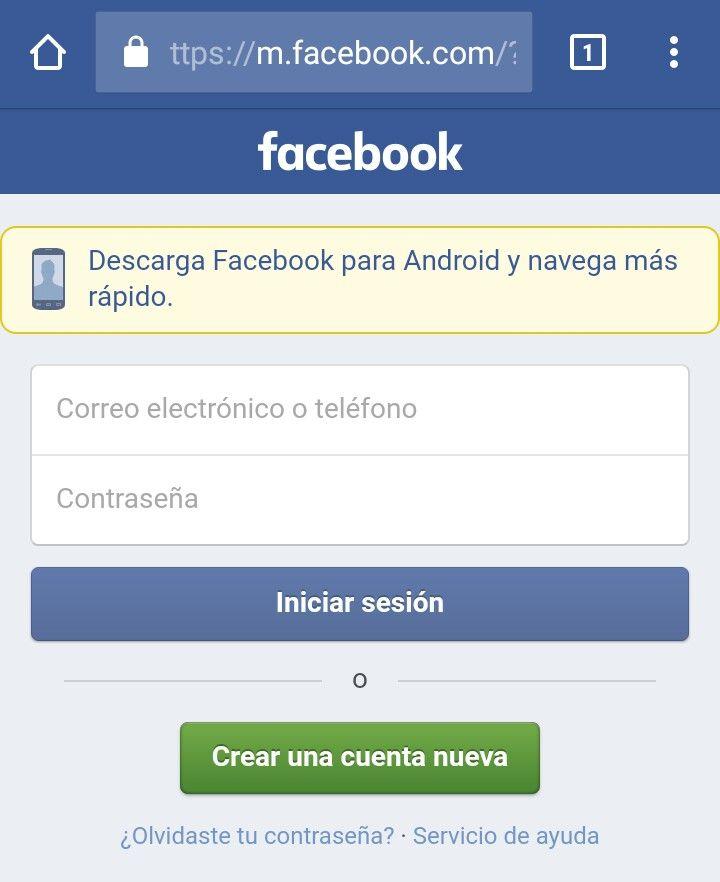 crear facebook actual sin numero celular