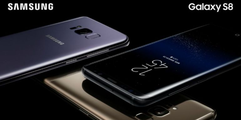 Samsung Galaxy S8 Plus Mexico foto oficial