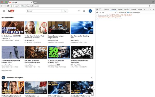 modo oscuro youtube. oscurecer pantalla. activar el modo nocturno en youtube
