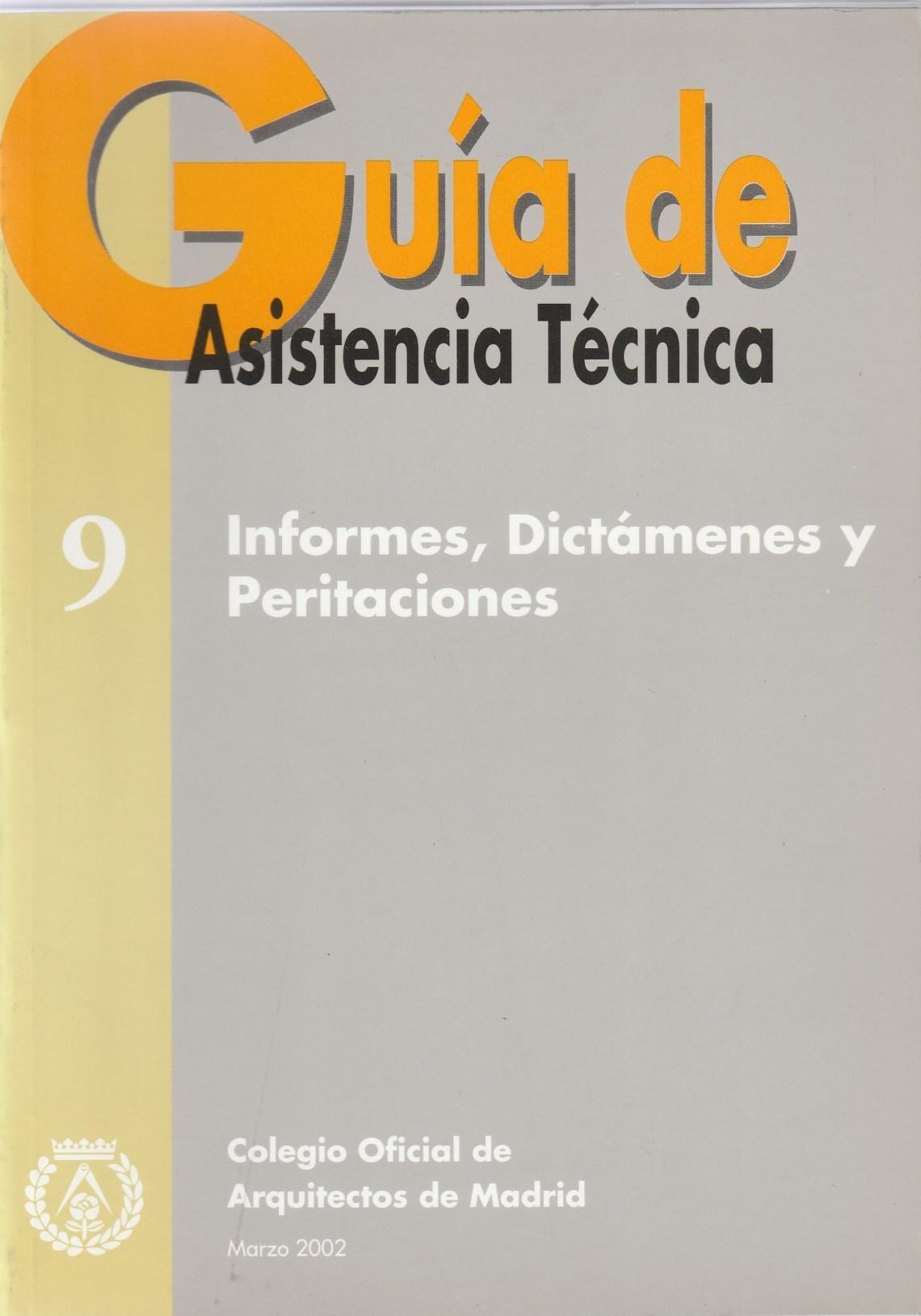 guia asistencia tecnica de peritaciones 1 escrita por Luis Jurado