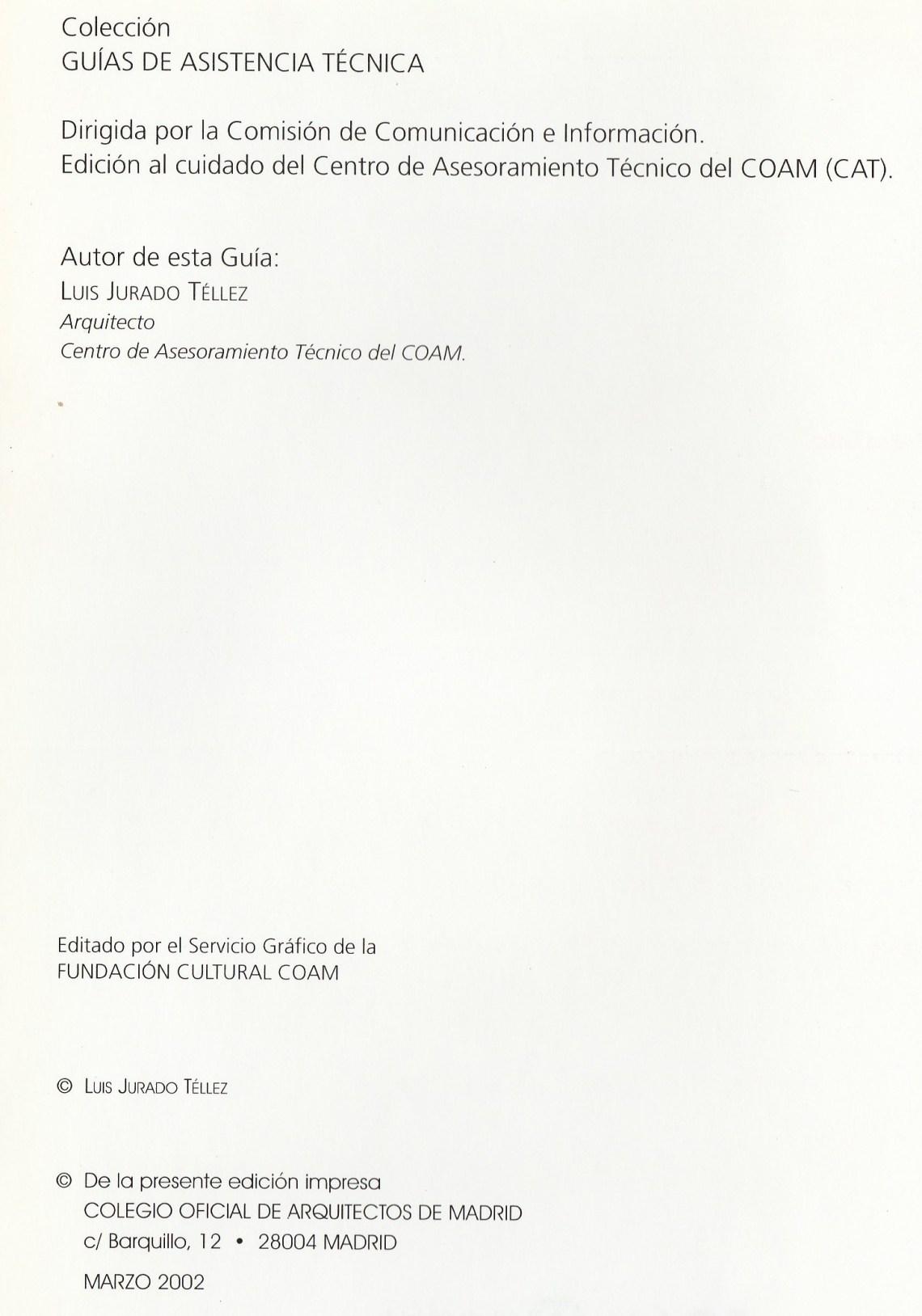 guia asistencia tecnica de peritaciones 2 escrita por Luis Jurado