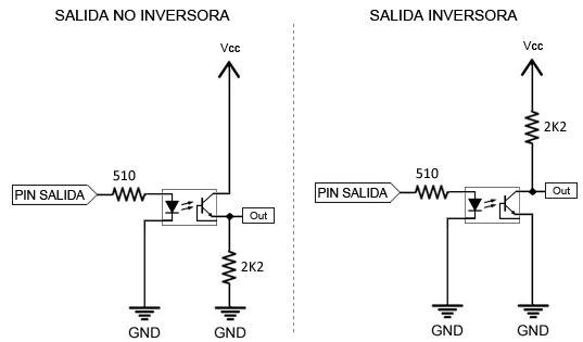 arduino optoacoplador salida digital - Electrogeek