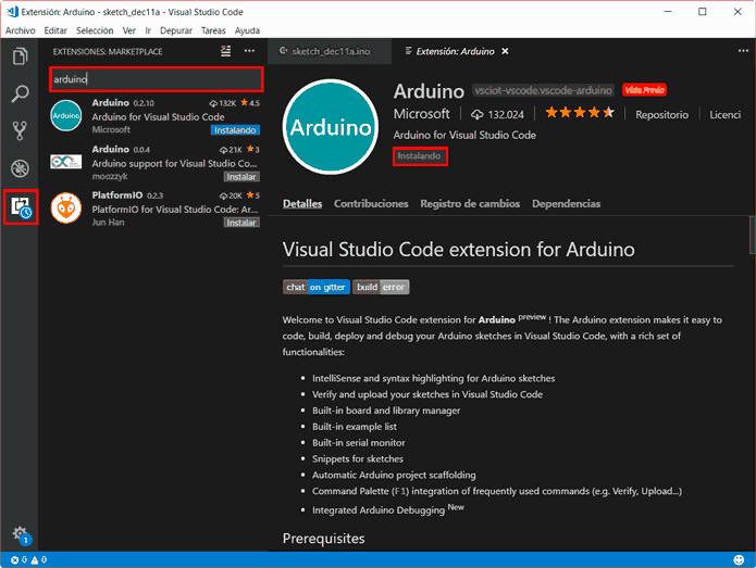 arduino visual studio code instalar - Electrogeek
