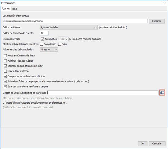 programar esp8266 arduino ide configuracion - Electrogeek