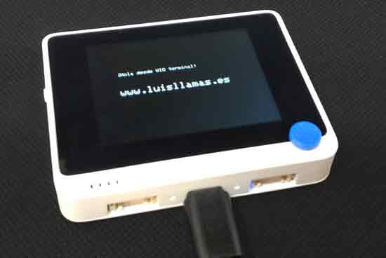 wio terminal test - Electrogeek