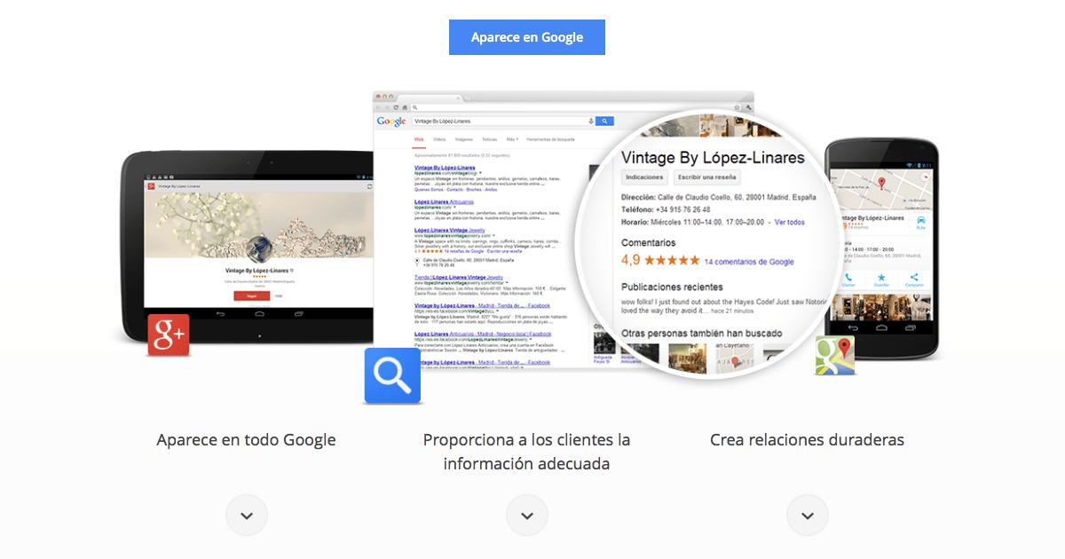 Directorios de Negocios de Google