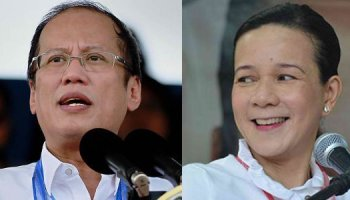 President Noynoy Aquino and Senator Grace Poe (Photos from Gov.ph and Valenzuela.gov.ph)