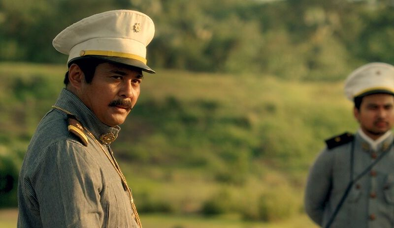 Hen. Antonio Luna (John Arcilla) and Col. Paco Roman (Joem Bascom). (Photo by Artikulo Uno)