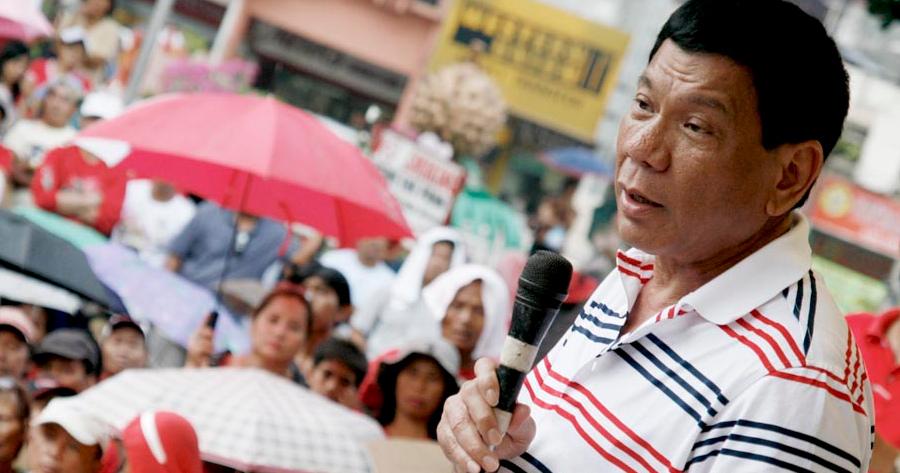 Rody Duterte (AKP Images/Keith Bacongco )