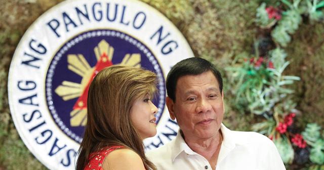 Imee Marcos and Rodrigo Duterte