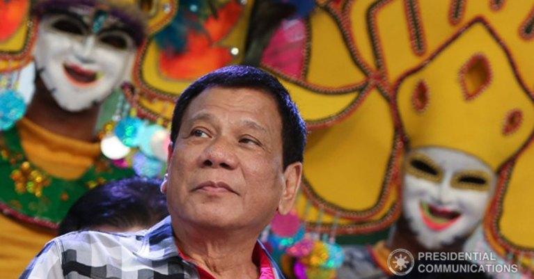 Duterte at MassKara 2016