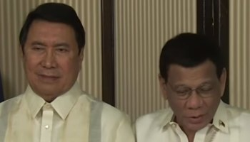 Ramon Tulfo and Rodrigo Duterte