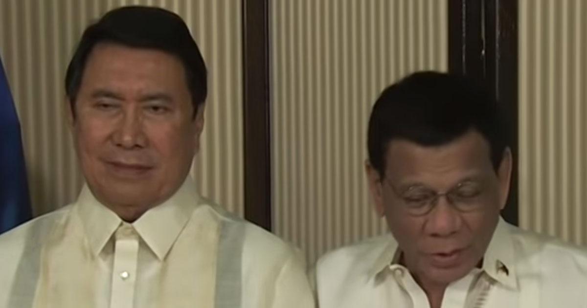 Ramon Tulfo and Rodrigo Duterte
