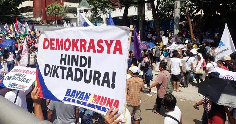 Demokrasya, hindi diktadura (Arkibong Bayan)