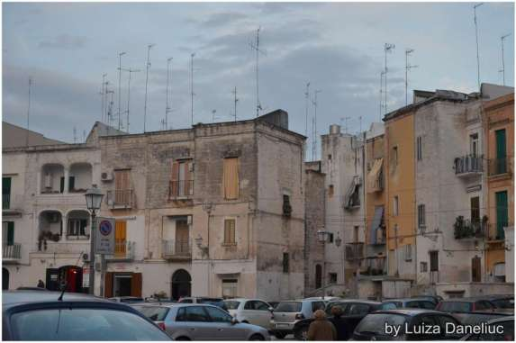 old town in bari