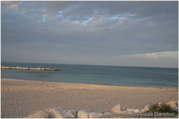 the beach in bari