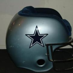 Cowboys Football Helmet Chair Glider Kijiji Ottawa Lujohns Auctioneers