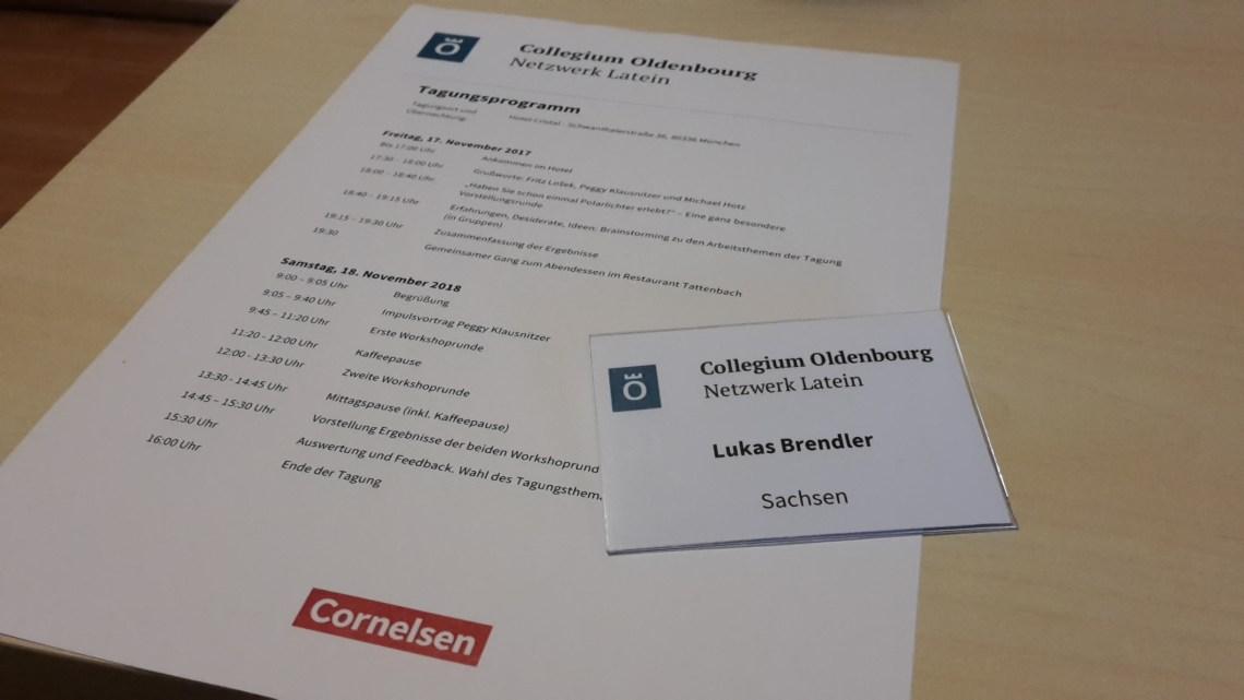 Netzwerk Latein: Collegium Oldenbourg 2017