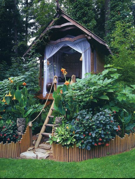 Garden Treehouse, Seattle, Washington