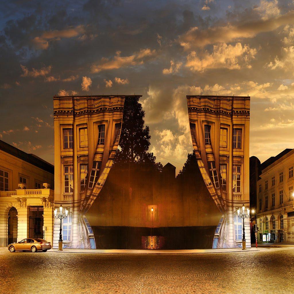 Surreal, Magritte Museum, Brussels, Belgium