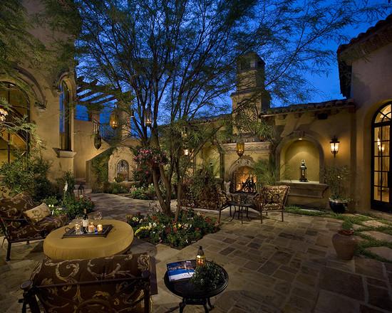 Courtyard Backyard Of A Spectacular Luxury Estate (Phoenix)