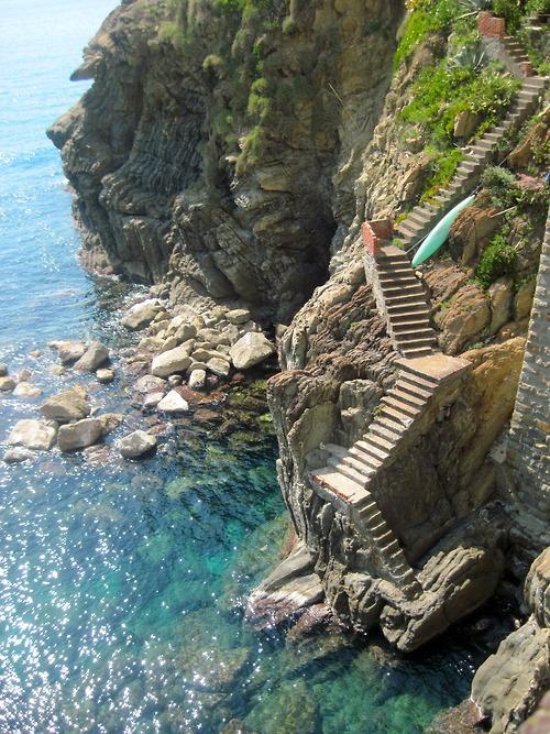 Steps to the Sea, Cinque Terre, Italy