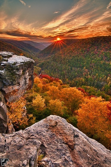 Autumn, Lindy Point, West Virginia