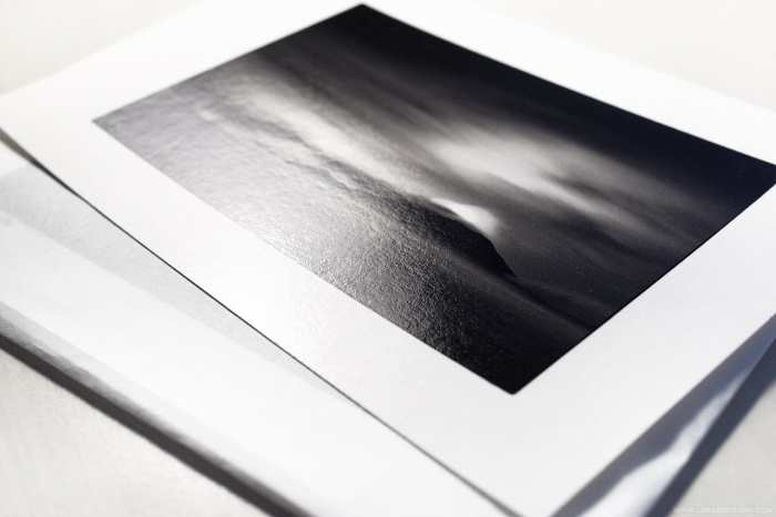 Canon ImagePrograf Pro-1000 printer: Finished 10 x 15 cm print on Hahnemuehle FineArt Baryta paper.