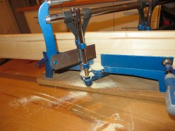 Cutting the frame at an angle
