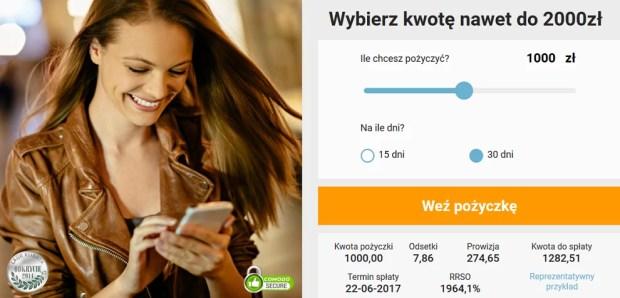 zaliczka.pl pożyczki