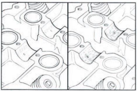 Rimozione coperchio punterie ed albero a camme Honda CB500