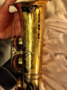 A Selmer Mark VI Alto Sax Bell