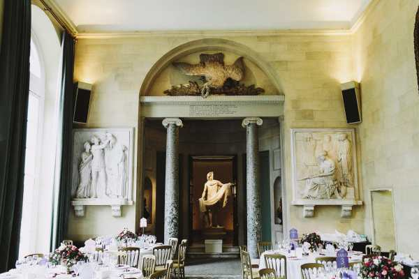 Woburn Abbey Sculpture Wedding Uk
