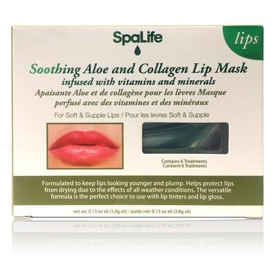 Sending You My Kiss | Spa Life Soothing Aloe & Collagen Lip Masks