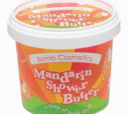 Butter Me Up | Bomb Cosmetics Mandarin Cleansing Shower Butter & Blackcurrant Cleansing Shower Butter