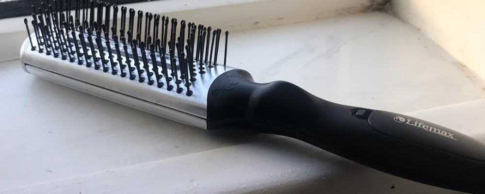 You Can Brush My Hair   CareCo Mobility Infrared Massage Hairbrush