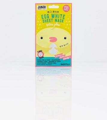 You've Got Egg On Your Face | Jiinju Egg White Sheet Mask