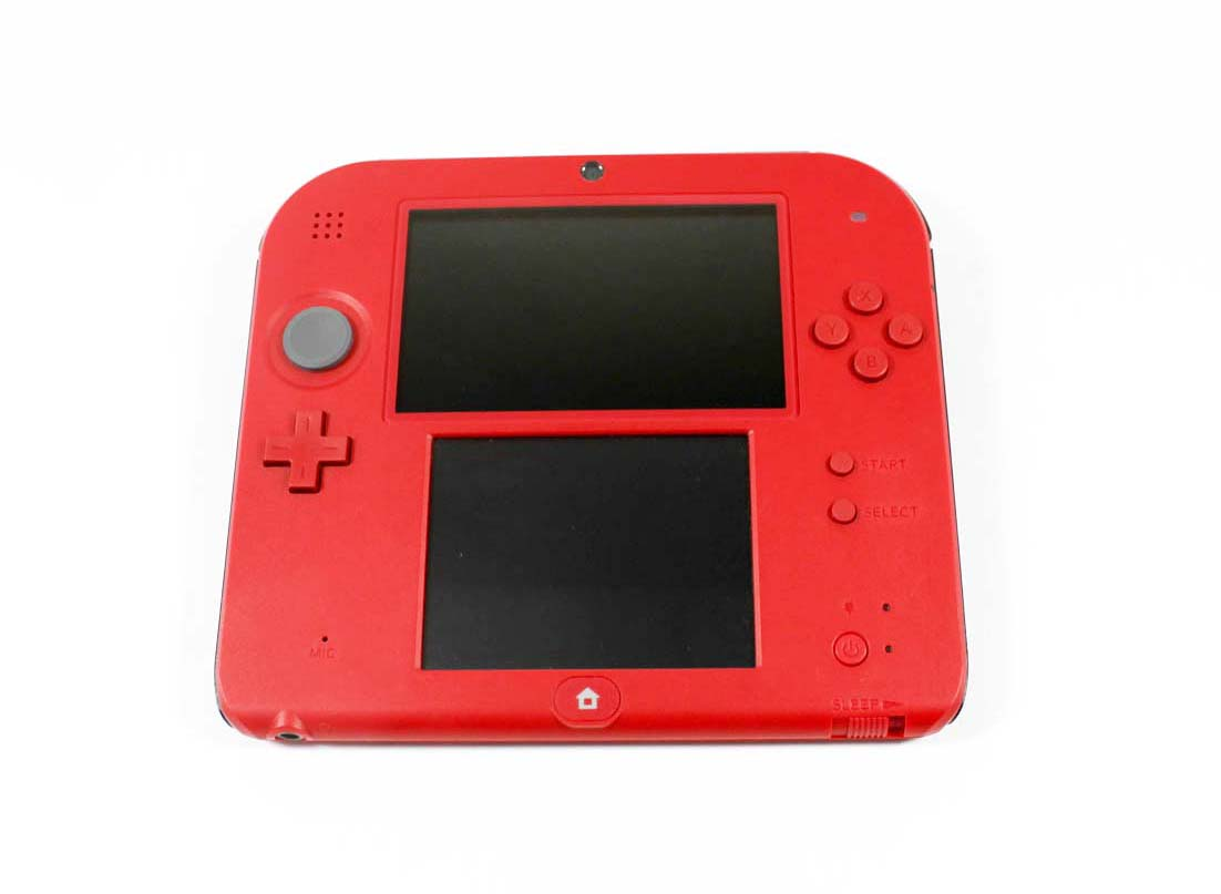 Nintendo 3DS 2DS System Mario Kart 7 Limited Edition Crimson Red