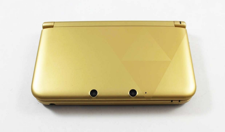 Nintendo 3DS XL Gold Zelda Edition System